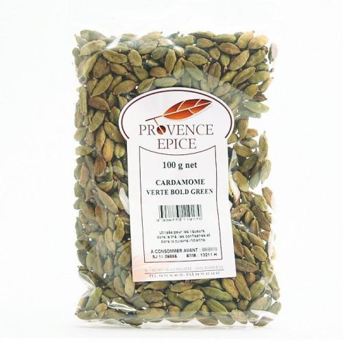 Cardamome vert en grain 100g