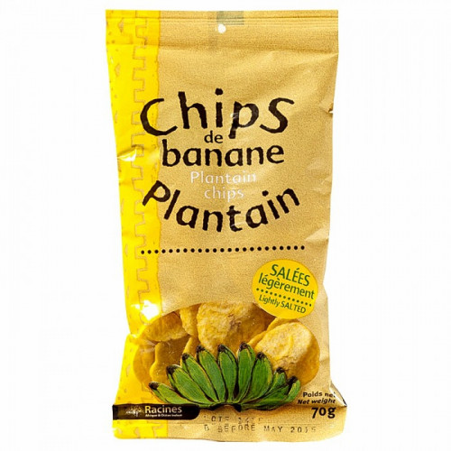 Chips banane plantain 70g