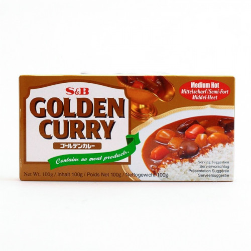 Curry japonais Medium Hot 100g