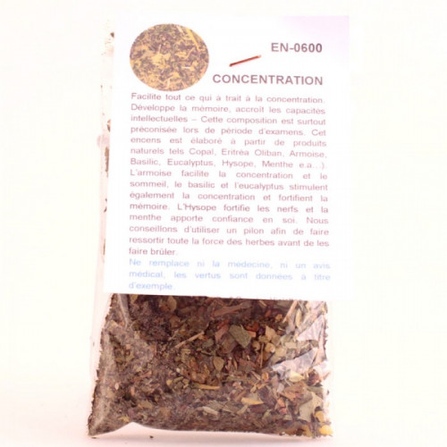 Encens Concentration 20g