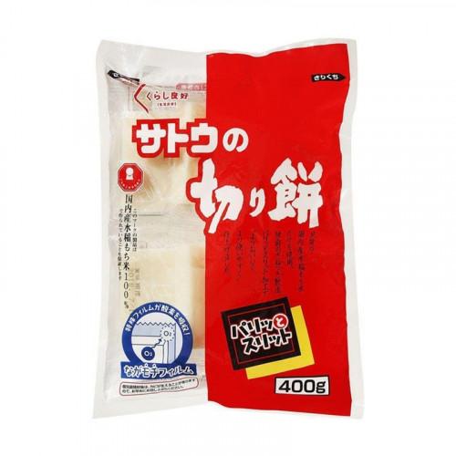 Gâteau de riz ou Sato No Kirimochi  prédécoupé pour mochi 400g