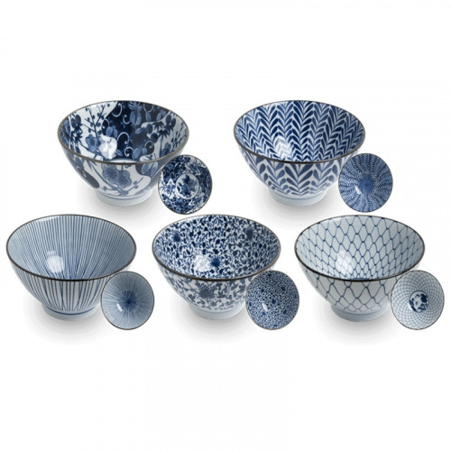 Coffret 5 bols Japonais Traditionnel