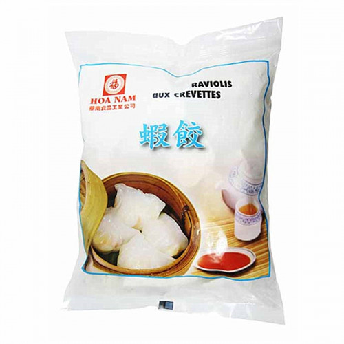 Raviolis aux crevettes (Hacao) frais 6 pièces 170g Hoa Nam