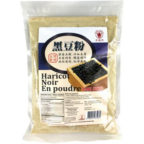 Poudre d'haricots noirs sans sucre 250g
