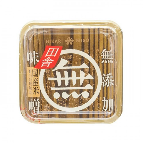 Inaka miso sans additif Hikari 380 g
