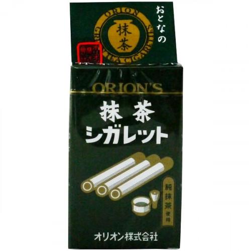 Bonbons au matcha en forme de cigarettes 14 g
