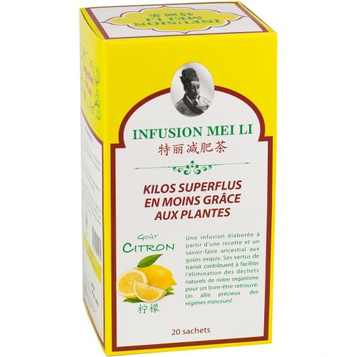 Infusion Meili - Kilos Superflus en Moins 20x1,5g