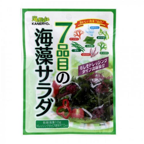 Mélange pour salade aux sept algues avec vinaigrette à la pérille, Kaneryo, 22 g