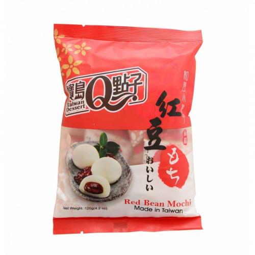 Mini Mochi à la pâte d'haricot rouge 120g Taiwan Dessert