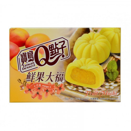 Mochis fourré à la mangue 210g Taiwan dessert