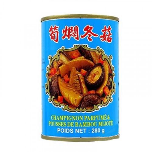 Chop Suey Champignon parfumé & pousses de bambou mijoté - 280g