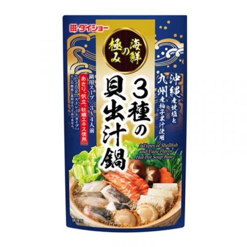 Bouillon pour Nabe aux 3 coquillages et saveur Yuzu Daisho - 750g