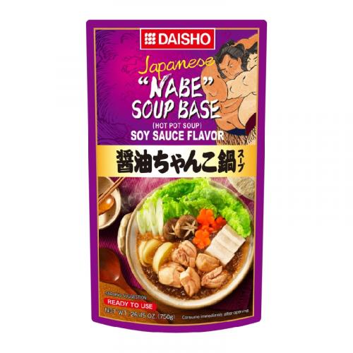 Bouillon pour Nabe à la sauce Soja Daisho - 750g