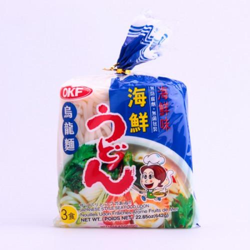 Nouilles Udon fraîches Saveur fruit de mer 3x214g