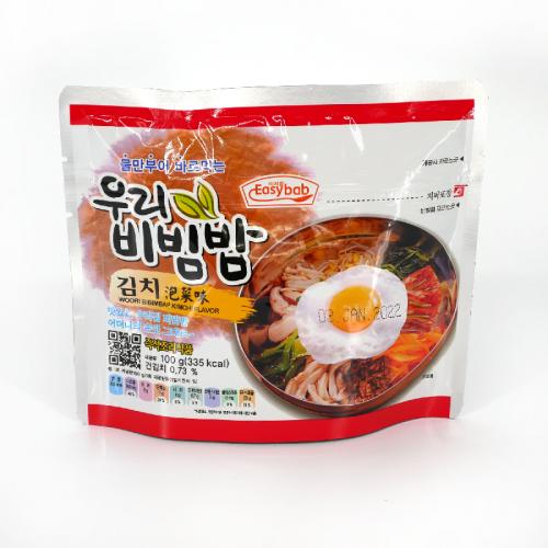 Riz instantané bibimbap au kimchi - 100g