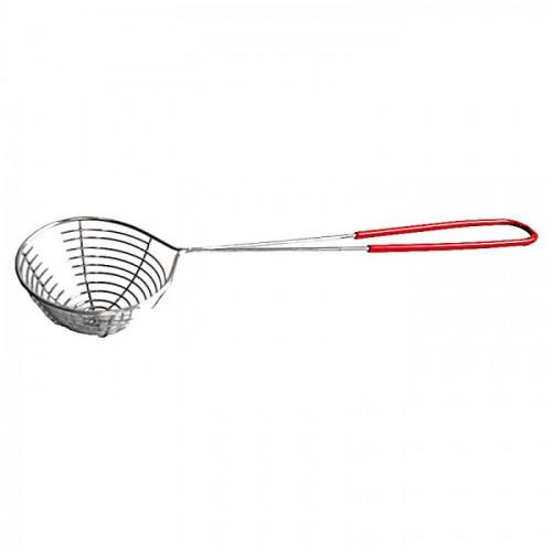 Passoire 1 pièce (louche) en acier inoxydable pour fondue