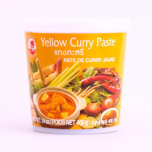 Pâte de curry jaune 400g