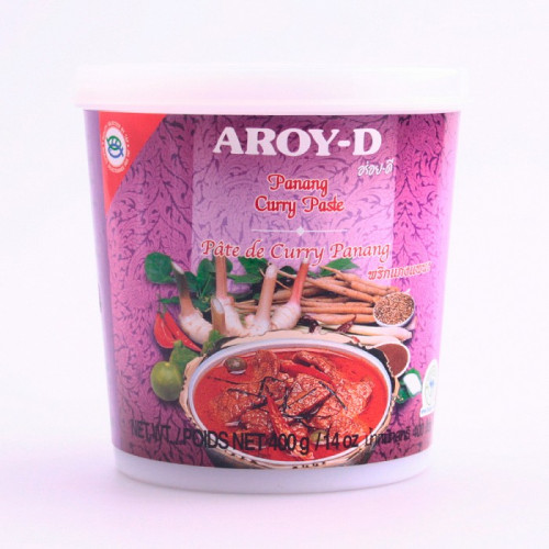 Pâte de curry panang-Aroy-D- 400g