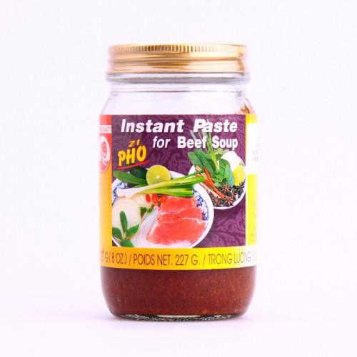 """Pâte instantanée pour """"Pho"""" (soupe au boeuf)  227g"""