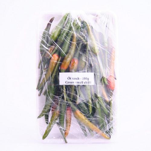 Petit piments oiseaux verts frais 100g