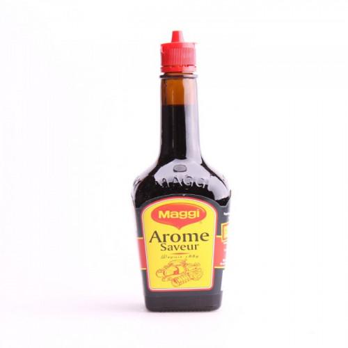 Sauce arôme saveur Maggi goût de noix sur fond caramélisé 200ml