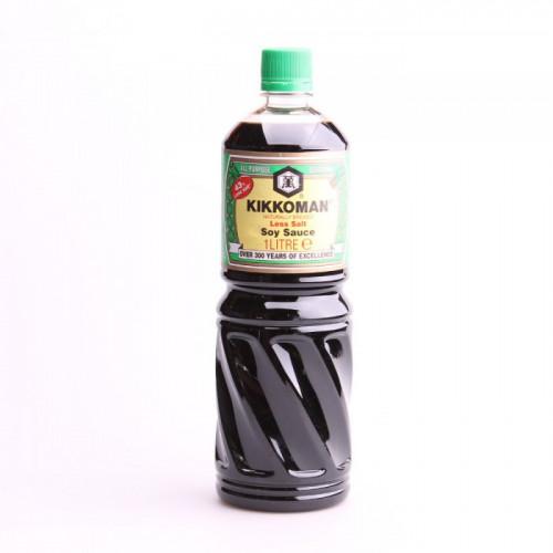 Sauce soja Kikkoman allégé en sel (43%) 1L