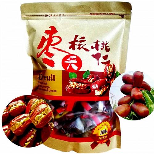 Dattes Chinoises (Jujube) fourrées au Noix 300g