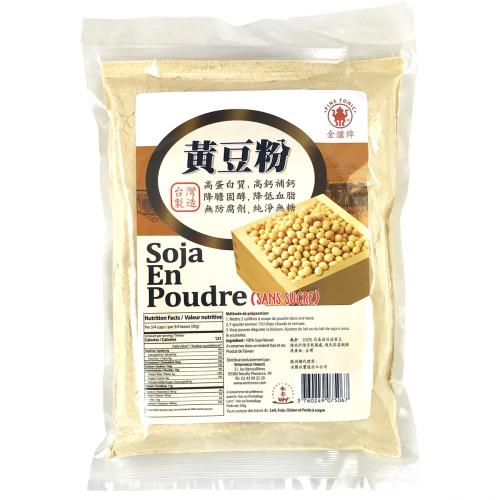Poudre de soja jaune sans sucre 250g