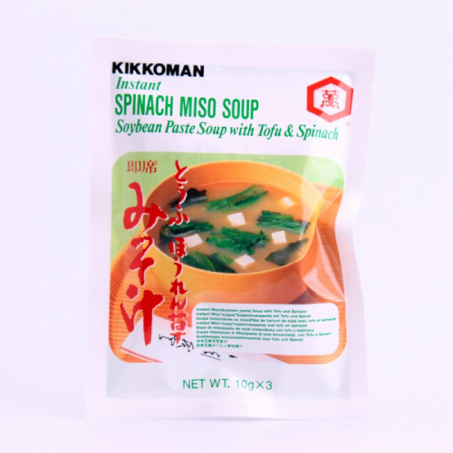 Soupe instantanée au miso vert 3x10g