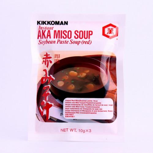 Soupe instantanée de miso rouge 3X10g