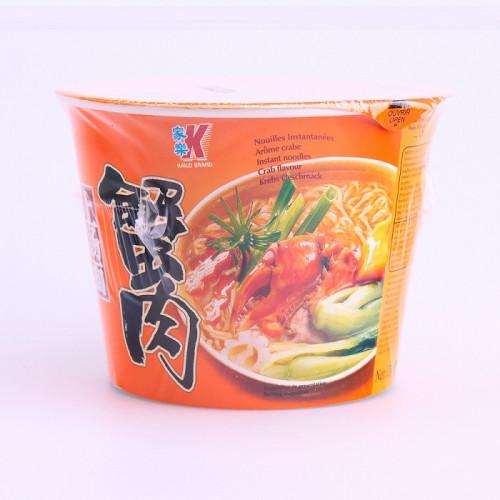 Soupe nouilles saveur crabe en bol 120g