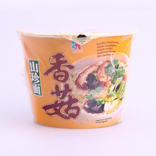Soupe nouilles saveur champignons en bol 120g