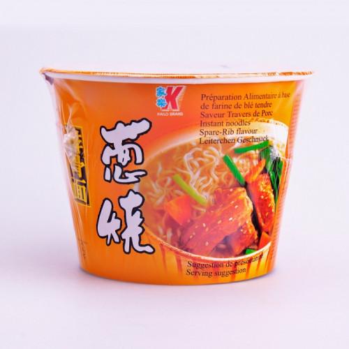 Soupe nouilles saveur travers de porc en bol 120g
