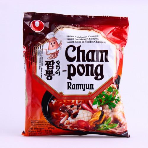 Soupe de nouilles Saveur fruits de mer aux épices et kimchi (Cham Pong ramyum) 124g