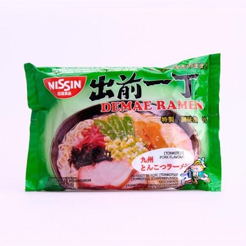 Soupe de nouilles saveur porc (Tonkotsu),Nissin 100g