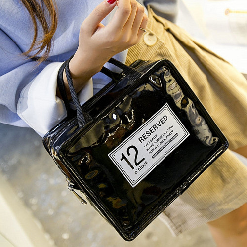 Sac isotherme ou lunch bag 12O'Clock noir