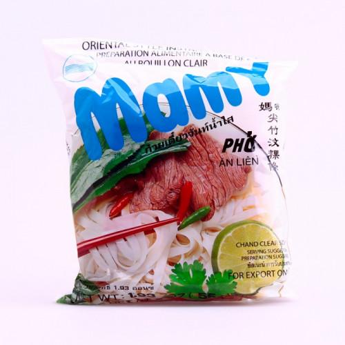 Carton de 30 Vermicelles de riz au bouillon clair (Pho) 55g MAMY