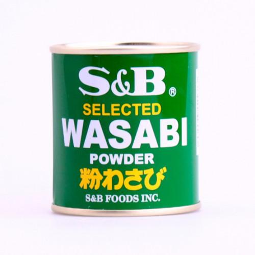 Wasabi en poudre S&B 30g