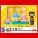 Miniatures de nourriture japonais et personnage manga