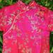 Robe longue traditionnelle enfant rose